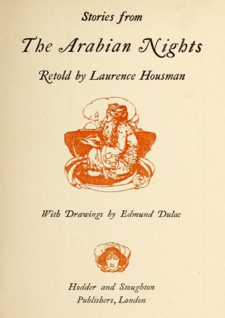 Cover of Stories from The Arabian Nights