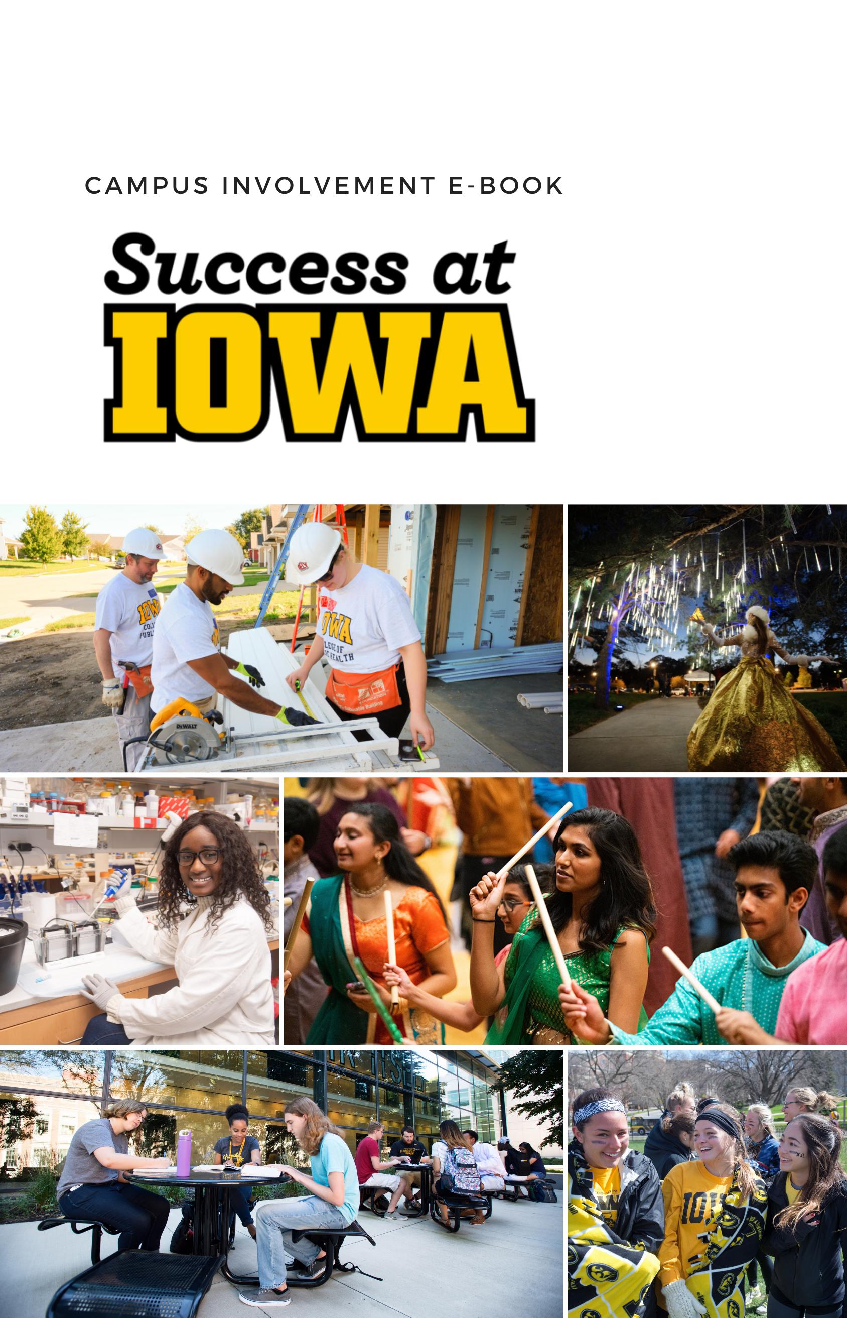 Cover image for Success at Iowa - Campus Involvement E-Book