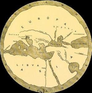 Early circular map