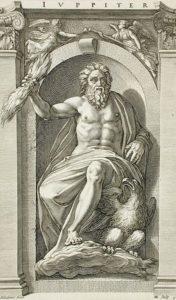 Engraving of Jupiter