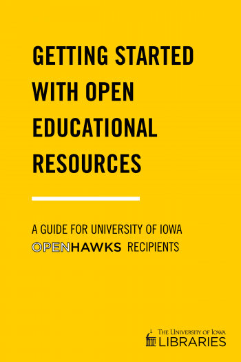 Cover image for Getting Started with Open Educational Resources