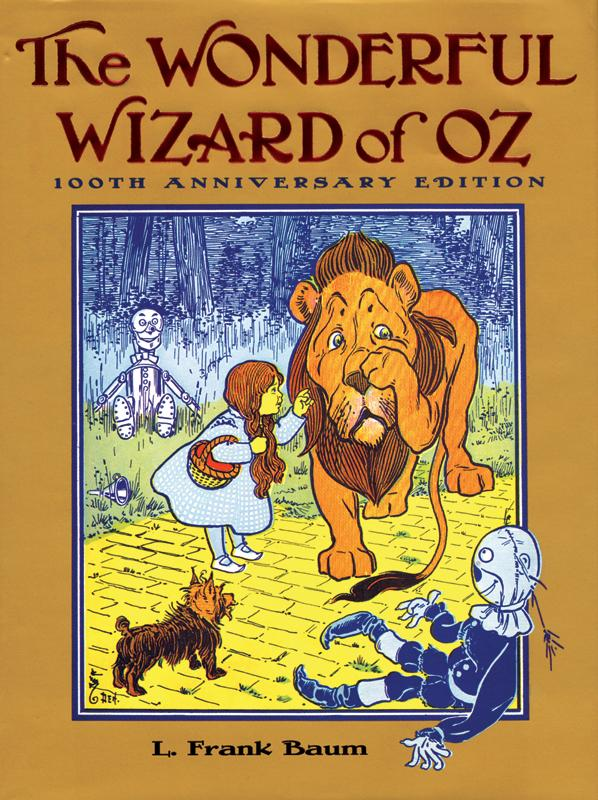 Cover image for The Wonderful Wizard of Oz by L. Frank Baum