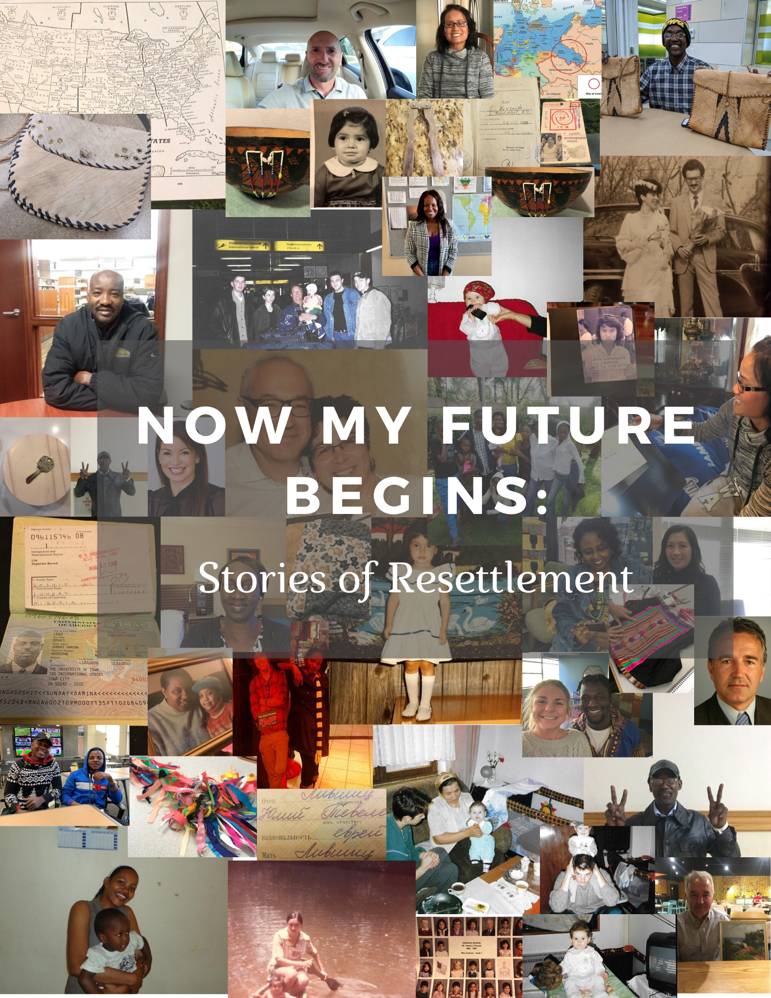 Cover image for Now My Future Begins: Stories of Resettlement